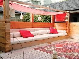fabrication canapé palette bois faire un salon de jardin en palette banquette de jardin jardin