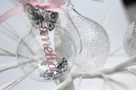 they re here personalised papercut baubles not just for