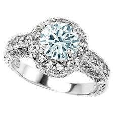 Aquamarine Wedding Rings by Diamond And Aquamarine Wedding Rings The Wedding Specialiststhe