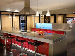 stainless steel kitchen furniture stainless steel countertops pictures ideas from hgtv hgtv