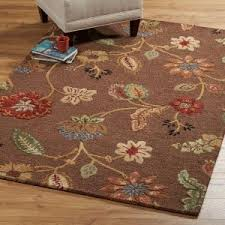 home decorators collection portico brown 8 ft x 11 ft area rug
