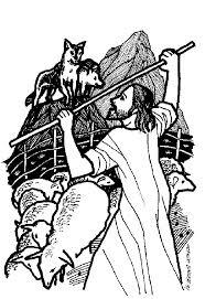 jesus the good shepherd coloring pages gospel of john 10 11 18 articles commentaries homilies