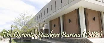 bureau osb the oneonta speakers bureau osb