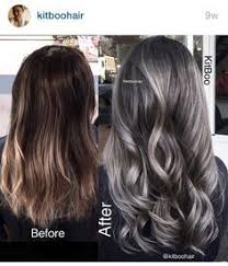 coloring gray hair with highlights hair highlights for image result for transition to grey hair with highlights hair