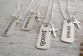 confirmation gift for boy communion necklace confirmation gift sted necklace