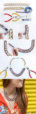 ribbon necklace making images 28 diy ideas to make your own statement necklace its absolutely jpg