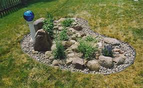 Simple Rock Garden Rock Garden Construction Wiltrout Nursery Chippewa Falls Wi
