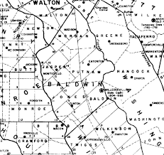 County Map Ga Jones County Land Records