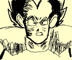 it s over 9000 drawing by brenden eason