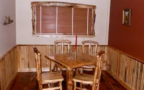 beetle kill pine dining table aspen log and beetle kill pine