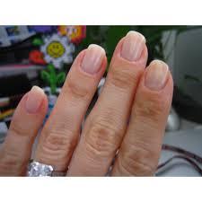 nail harmony gelish soak off gel polish bashful nail harmony