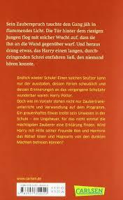 harry potter zaubersprüche buch harry potter und die kammer des schreckens german edition j k