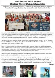 volunteers give vets a day on the water freedom boat club fff florida council education