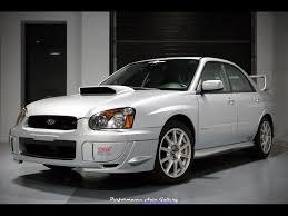 subaru sedan white 2005 subaru impreza wrx sti