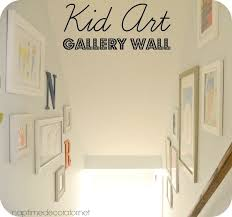 Gallery Home Decor Kid Art Gallery Wall Hometalk