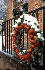 Natural Decorations For Christmas Wreaths by Decorations Deck The Doors The Colonial Williamsburg Official