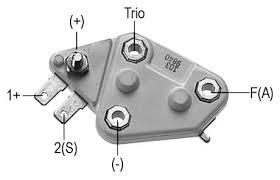 voltage regulator for 10si series alternators