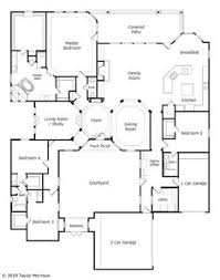 House Plans With A Courtyard Center Courtyard House Plans With 2831 Square Feet This Is One
