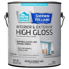 shop hgtv home by sherwin williams door and trim tint base high