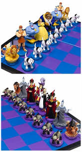 disney chess i think the lions were supposed to be the horses