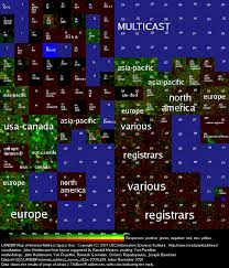 ip address map shocking not all ip addresses are actually used security