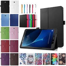 si e samsung for samsung galaxy tab e 9 6 sm t560 tablet pu leather folio stand