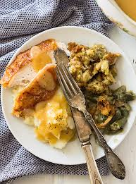 thanksgiving menu for beginners countryside cravings