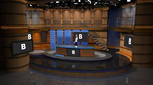 tv studio desk virtualsetworks virtual set studios