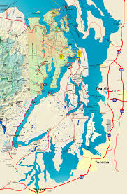 Sequim Washington Map by Official Map Of Hood Canal And Olympic Peninsula With Links To