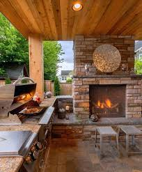 kitchen fireplace designs outdoor kitchen and fireplace designs spurinteractive com