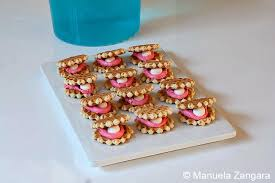 seashell shaped cookies s 5th birthday