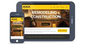 construction website design los angeles