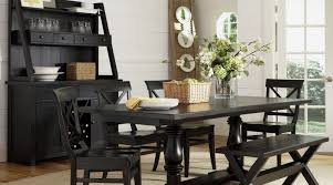 black dining room set black glass dining room table and chairs dining table set