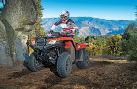utv action magazine honda rancher 420 automatic irs eps