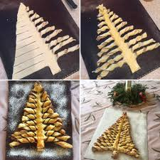 puff pastry christmas trees roll out 2 rectangle puff pastry