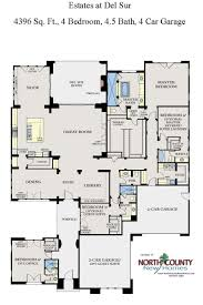 Floor Plans For One Story Homes The Estates At Del Sur Floor Plans San Diego New Homes