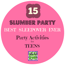 Halloween Slumber Party Ideas by 15 Slumber Party Games And Activities For Teen Girls Best