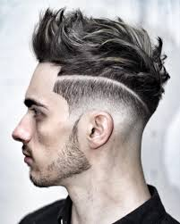 top haircut for men haircut for round face men short side long top