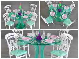 barbie dining room set kids toys kids toys barbie furniture and accessories barbie doll