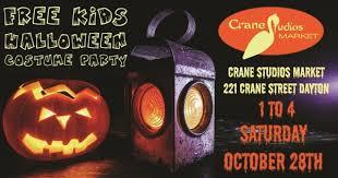 halloween costume party at crane studios market