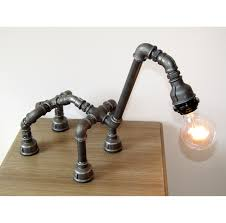 robot camel table lamp pipe lamp iron pipe lamp