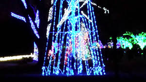 holiday lights tour detroit detroit zoo christmas lights event december 2014 youtube