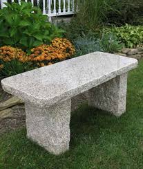 granite benches granite garden accents benches bird bath s mailbox posts and more