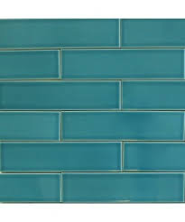 Blue Ceramic Floor Tile Subway Backsplash Tiles Glass U0026 Ceramic Modwalls Tile