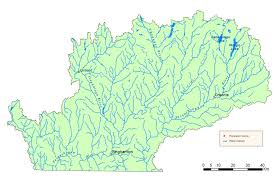 detailed map of new york susquehanna river watershed map nys dept of environmental