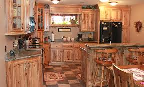 Knotty Hickory Kitchen Cabinets Rustic Hickory Ideas For The - Rustic cherry kitchen cabinets