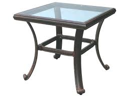Iron Patio Table With Umbrella Hole by Patio Ideas White Wicker Patio End Tables Outdoor End Table With