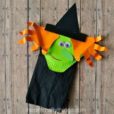 Childrens Halloween Craft Ideas - paper bag halloween witch craft for kids i heart crafty things