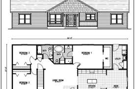 Ranch Style Homes With Open Floor Plans 7 Open Ranch Style Floor Plans 28x48 Simple Open Ranch Floor
