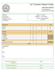 preschool report card template 30 images of report card template leseriail